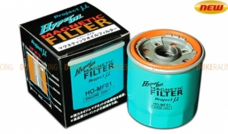 Масляный фильтр Project Mu HO-Hyper oil magnetic filter MF02 для Nissan, Honda, Mitsubishi, Subaru